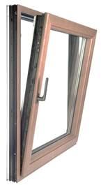 Дерево-алюминиевые окна