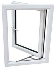 Окна, открывающиеся наружу
