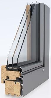 TitleДеревянное окно LivingLine 0,8