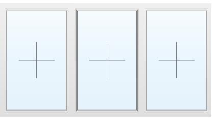 Раздвижное алюминиевое окно №37