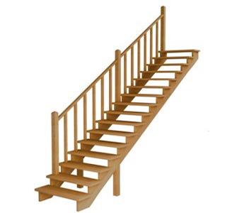 Лестницы из ольхи